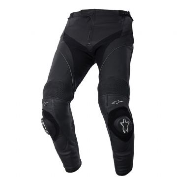 Alpinestars Missile Leather Motorcycle Sports Race Track Pants Black